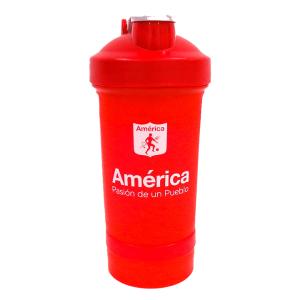 Botella Deportiva Shaker 681                                          Color Rojo