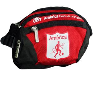 Canguro con Escudo América                                            Color Negro/Rojo